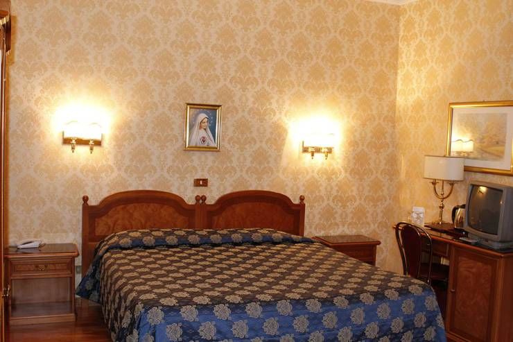 Standard double room for single use pace helvezia hotel rome
